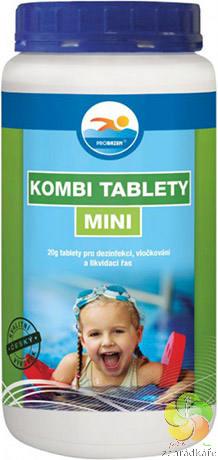 KOMBI tablety MINI 1,2 kg - bazénová chemie