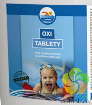 OXI tablety 200 g - 1 kg - bazénová chemie