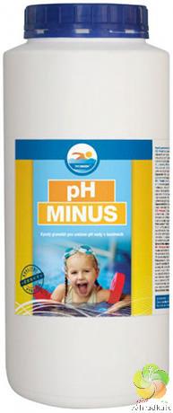 pH MINUS 3 kg - bazénová chemie