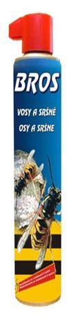 BROS - hubicí sprej proti vosám a sršňům 600 ml