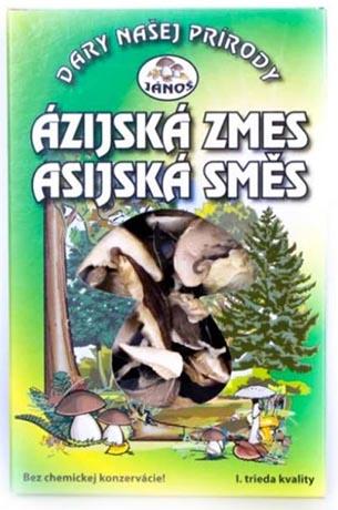 Asijská směs krájená 20 g (sušené houby)