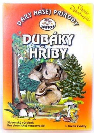 Dubáci - hřib smrkový krájený 50 g (sušené houby)