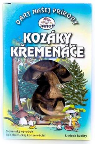 Kozáky a křemenáče - krájené 20 g (sušené houby)