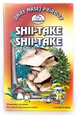 Shii - také - krájené 20 g (sušené houby)