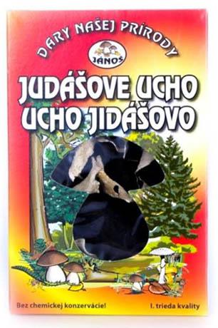 Jidášovo ucho - krájené 20 g (sušené houby)