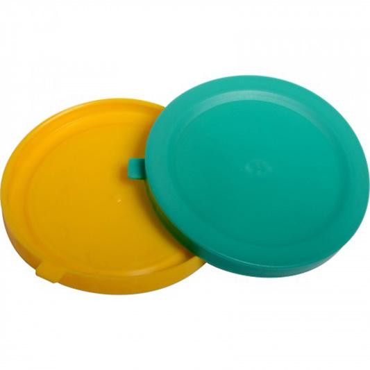 Víčko plastové na 68 mm na sklenici sklenici - mix barev