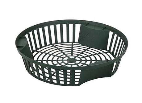 Košík na cibuloviny průměr 26cm šedý