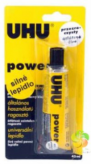 UHU Power Transparent  blistr lepidlo