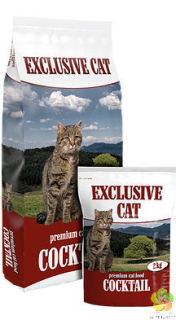 EXCLUSIVE CAT COCKTAIL - Premium Cat 10 kg