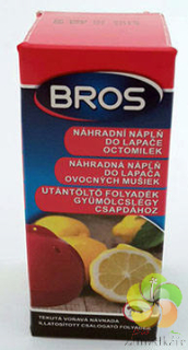 BROS - náplň do lapače octomilek 15 ml