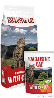 EXCLUSIVE CAT with CHEESE  -  PREMIUM KRMENÍ PRO KOČKY 10kg